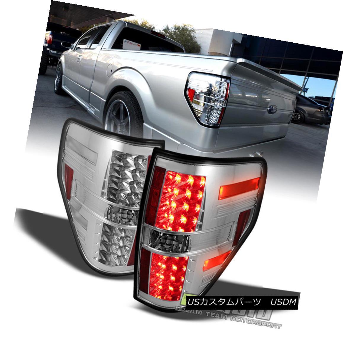 テールライト 09-14 Ford F-150 Tail Lights Brake Lamp Styleside Philips Lumiled LED Left+Right 09-14 Ford F-150テールライトブレーキランプStyleside Philips Lumiled LED左+右