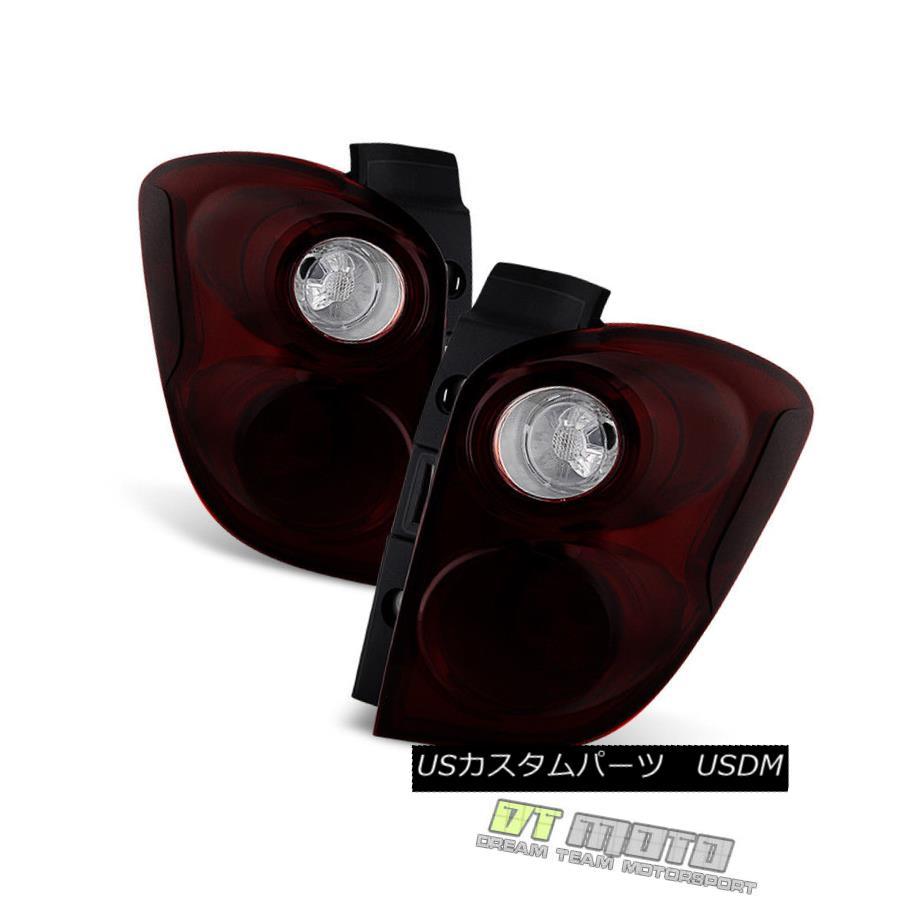 テールライト Black Tinted 2010-2015 Chevy Equinox Tail Lights Brake Lamps Pair Set Left+Right Black Tinted 2010-2015 Chevy Equinoxテールライトブレーキランプペア左右セット