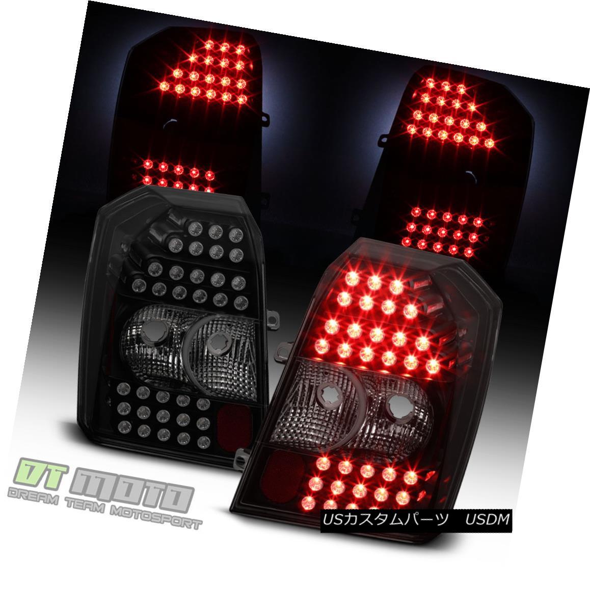 テールライト Black Smoked 2007-2012 Dodge Caliber LED Tail Lights Lamps 07 08 09 10 11 12 ブラックスモーク2007-2012ドッジキャリバーLEDテールライトランプ07 08 09 10 11 12