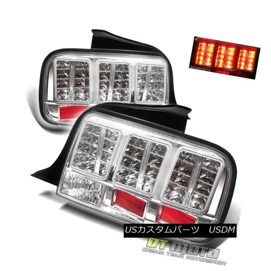 テールライト 05-09 Ford Mustang Philips-Led Perform Tail Lights Lamps 2005-2009 Left+Right 05-09 Ford Mustang Philips-Ledテールライトランプ2005-2009 Left + Right