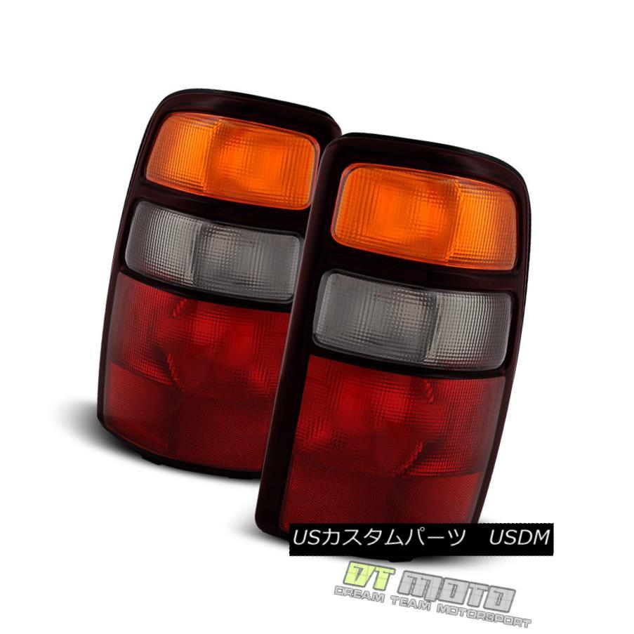 テールライト 2004-2006 Chevy Suburban Tahoe GMC Yukon Tail Lights Brake Lamps Set Left+Right 2004-2006シボレー郊外のタホGMCユーコンテールライトブレーキランプは左+右に設定