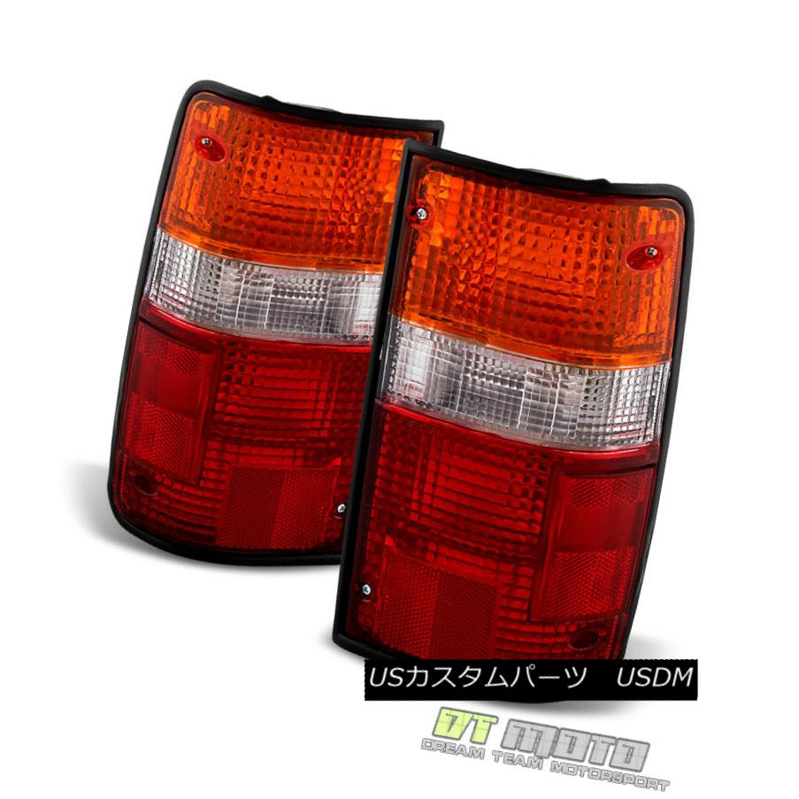 テールライト 1989-1995 Toyota Pickup Tail Lights Brake Lamps Replacement Left+Right 89-95 Set 1989-1995トヨタピックアップテールライトブレーキランプ交換+左89-95セット