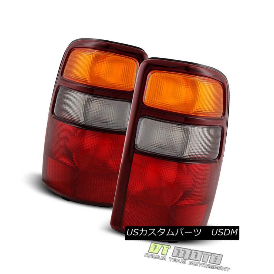テールライト 2000-2003 Chevy Suburban Tahoe GMC Yukon XL Brake Tail Lights Lamps Left+Right 2000-2003シボレー郊外タホGMCユーコンXLブレーキテールライトランプ左+右