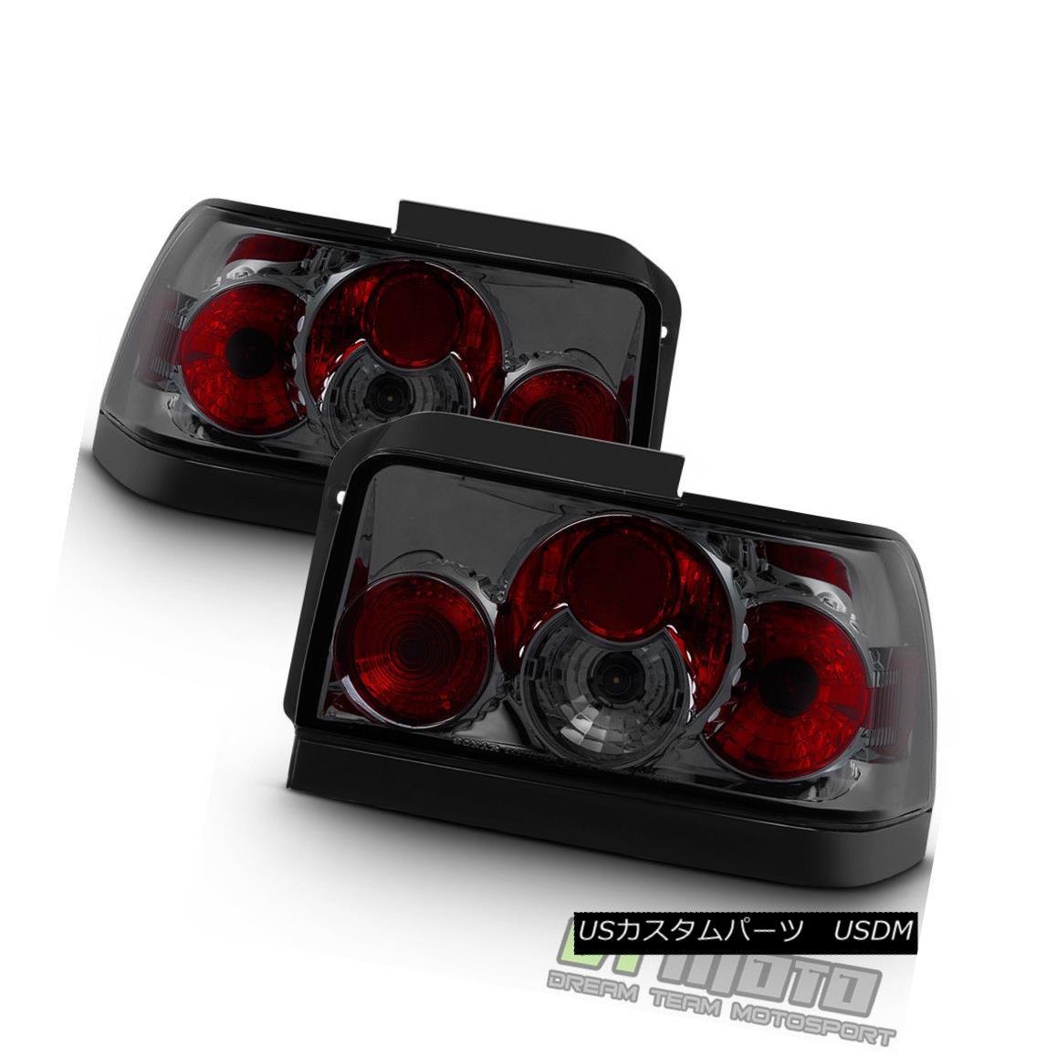 テールライト Smoked Lens 1993-1997 Toyota Corolla JDM Tail Lights Brake Lamps Pair Left+Right スモークレンズ1993-1997トヨタカローラJDMテールライトブレーキランプペア左右+右