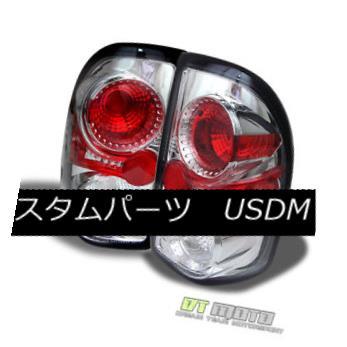 テールライト 97-04 Dodge Dakota Pickup Clear Altezza Tail Lights Lamps Left+Right Pair Sets 97-04ダッジダコタピックアップクリアAltezzaテールライトランプ左右セットペア