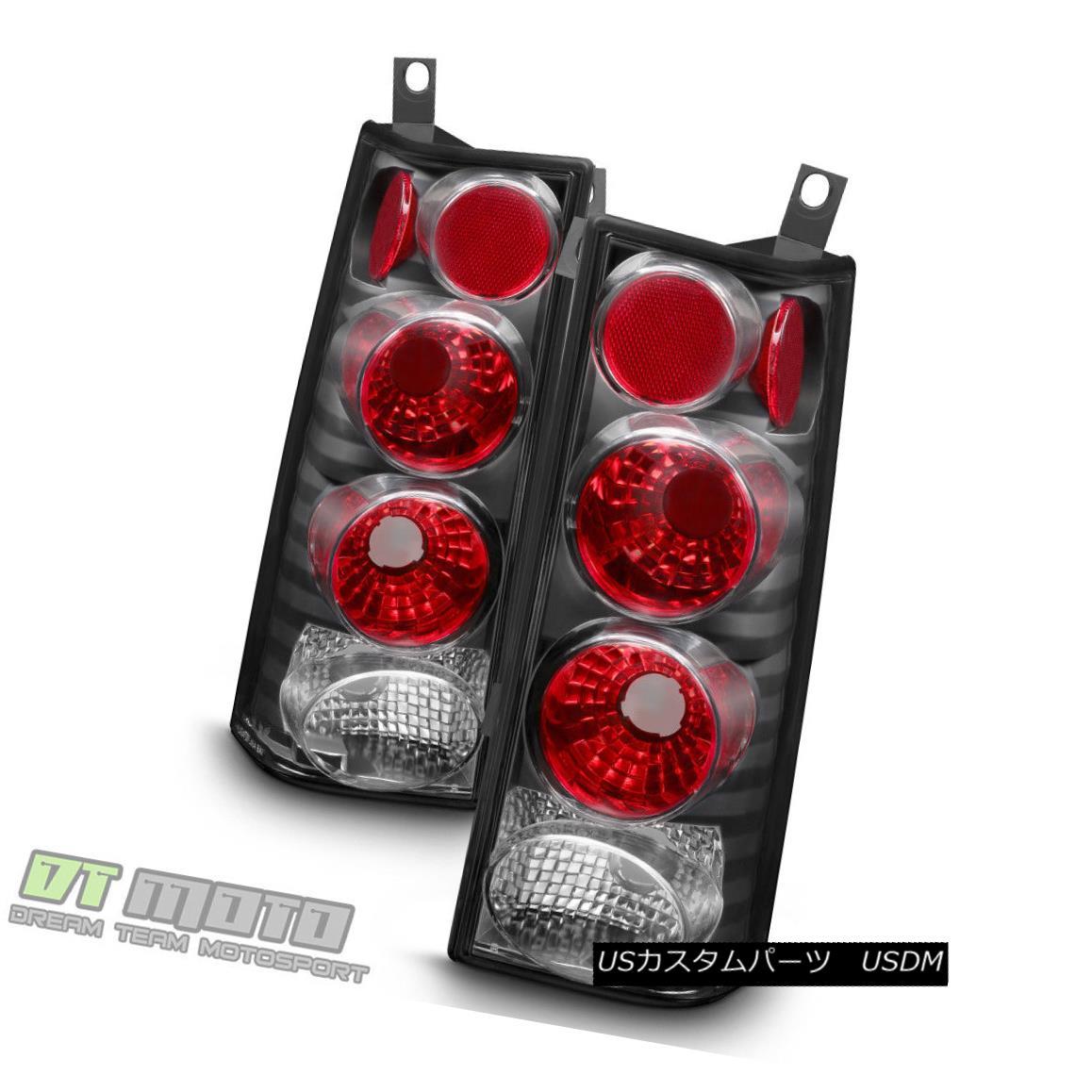 テールライト Black 2003-2015 Chevy Express/ GMC Savana Van Tail Light Brake Lamps Left+Right ブラック2003-2015シボレーエクスプレス/ GMCサバナヴァンテールライトブレーキランプ左+右