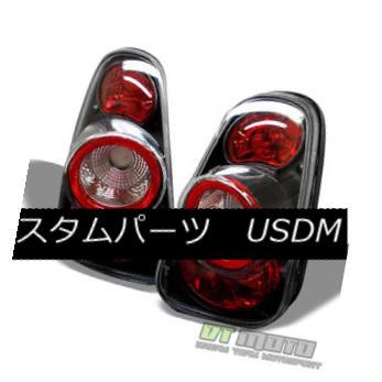 テールライト Black 2002-2006 Mini Cooper Tail Lights Rear Brake Lamps 02-06 Pair Left+Right 黒2002-2006ミニクーパーテールライトリアブレーキランプ02-06ペア左右+右