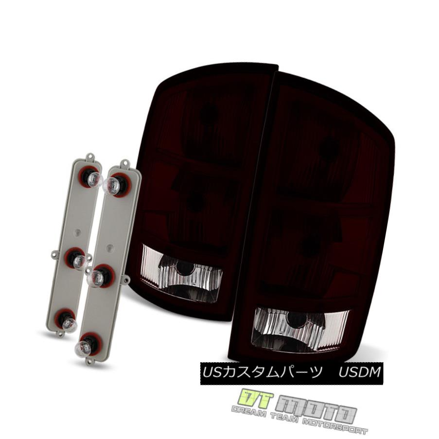 テールライト Red Smoked 2002-2006 Dodge Ram 1500 03-06 2500 3500 Tail Lights Lamps Left+Right Red Smoked 2002-2006 Dodge Ram 1500 03-06 2500 3500テールライトランプ左右+