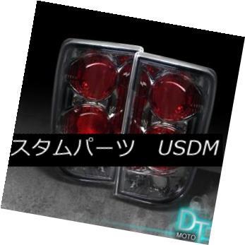 テールライト Smoked 95-05 Chevy Blazer Gmc Jimmy Altezza Tail Lights Lamp Left+Right Pair Set スモーク95-05シボレーブレイザーGmcジミーアルテッツァテールライトランプ左+右ペアセット