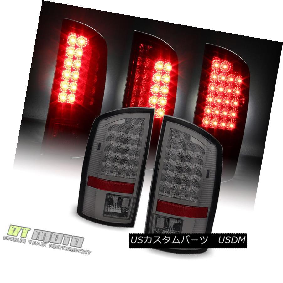 テールライト Smoked 2002-2006 Dodge Ram 1500 LED Tail Lights Lamps Left+Right 02 03 04 05 06 スモーク2002-2006ダッジラム1500 LEDテールライトランプ左+右02 03 04 05 06