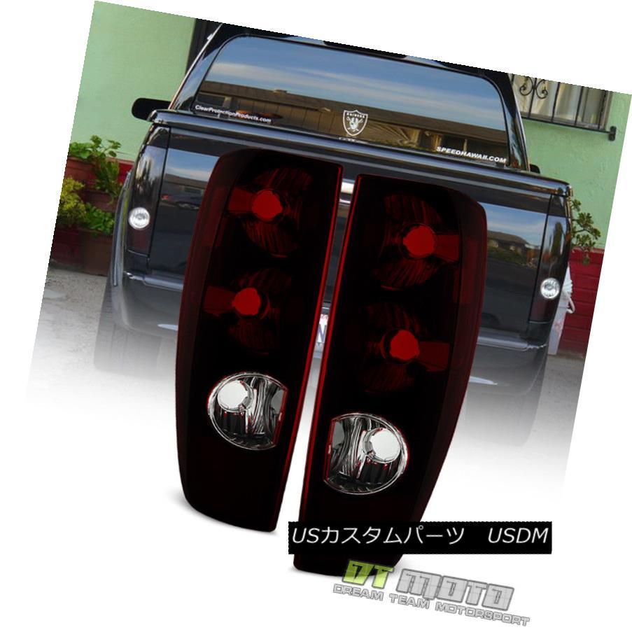テールライト Red Smoke 2004-2012 Chevy Colorado GMC Canyon Tail Lights Lamps Pair Left+Right レッドスモーク2004-2012シボレーコロラド州GMCキャニオンテールライトランプペア左右+右
