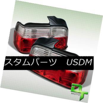 テールライト 1992-1998 BMW E36 4Dr 3-Series Red Clear Tail Lights Lamp 318i 325i 328i 320I M3 1992-1998 BMW E36 4Dr 3シリーズレッドクリアテールライトランプ318i 325i 328i 320I M3