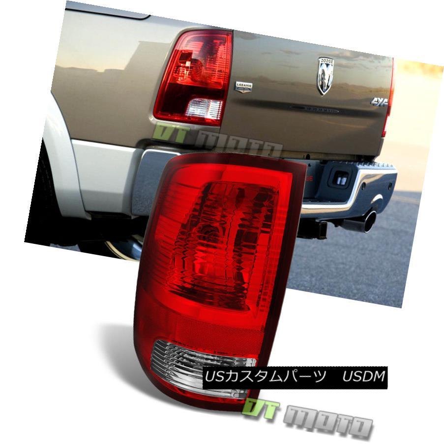 テールライト 2009-2017 Dodge Ram 1500 2500 Tail Lights Lamps+Bulbs Replacement LH Driver Side 2009-2017 Dodge Ram 1500 2500テールライトランプ+電球代替LHドライバサイド