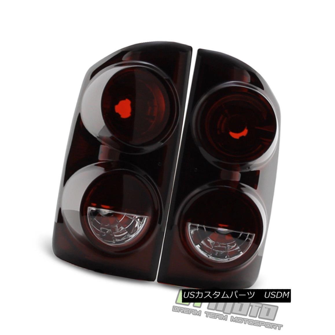 テールライト Red Smoke 2007-2008 Dodge Ram 1500 07-09 2500 3500 Tail Lights Lamps Left+Right Red Smoke 2007-2008 Dodge Ram 1500 07-09 2500 3500テールライトランプ左右+