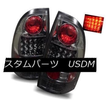 テールライト For 05-15 Toyota Tacoma Smoke LH/RH LED Tail Lights Rear Brake Lamps Replacement 05-15 Toyota Tacoma Smoke LH / RH LEDテールライトリアブレーキランプの交換