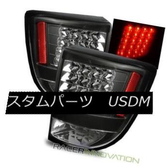 テールライト For 00-05 Toyota Celica Black LED Tail Lights Rear Brake Lamps 00-05用トヨタセリカブラックLEDテールライトリアブレーキランプ