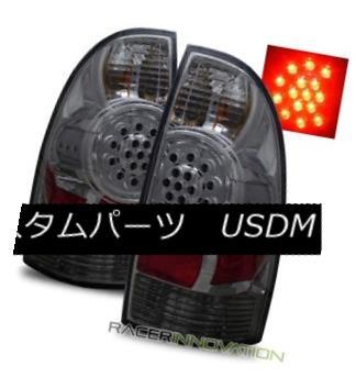 テールライト For 05-08 Toyota Tacoma PreRunner/X-Runner Smoke Tint LED Tail Lights Brake Lamp 05-08の場合トヨタタコマPreRunner / X-Ru nnerスモークティントLEDテールライトブレーキランプ