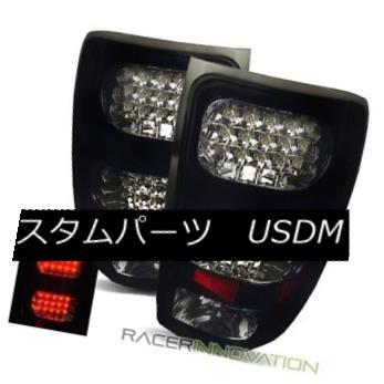 テールライト For 07-13 GMC Sierra 1500/2500HD/3500HD Black Smoke LED Tail Lights Brake Lamps 07-13 GMC Sierra 1500 / 2500HD / 35 00HDブラックスモークLEDテールライトブレーキランプ