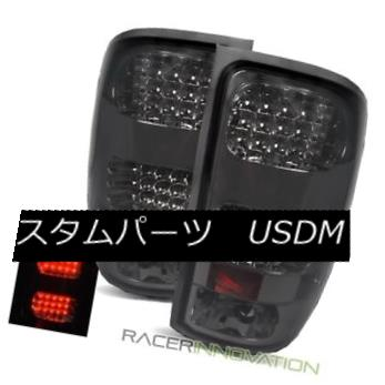 テールライト For 07-13 GMC Sierra 1500/2500HD/3500HD Smoke LED Tail Lights Brake Lamps 07-13 GMC Sierra 1500 / 2500HD / 35 00HD用スモークLEDテールライトブレーキランプ