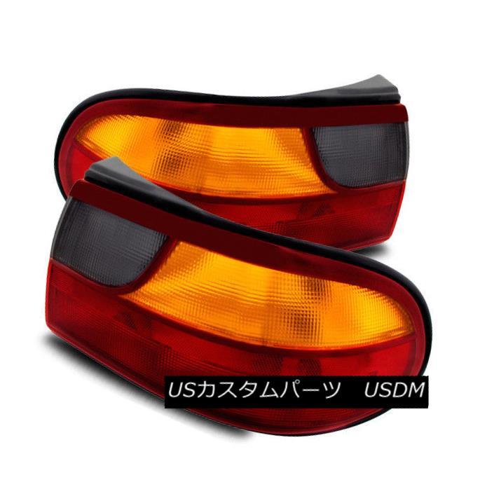 テールライト For 97-03 Chevy Malibu/04-05 Classic Sedan Red/Amber Tail Lights Rear Brake Lamp 97-03シボレーマリブ/ 04-05クラシックセダンレッド/アンバーテールライトリアブレーキランプ