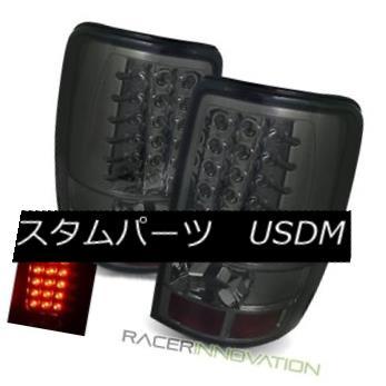 テールライト For 00-06 Chevy Suburban Smoke LED Tail Lights Rear Brake Lamps 00-06シボレー郊外の煙LEDテールライトリアブレーキランプ