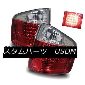テールライト For 94-04 Chevy S10/GMC Sonoma/96-00 Hombre Red Clear LED Tail Lights Brake Lamp 94-04 Chevy S10 / GMC Sonoma / 96-00 HombreレッドクリアLEDテールライトブレーキランプ用