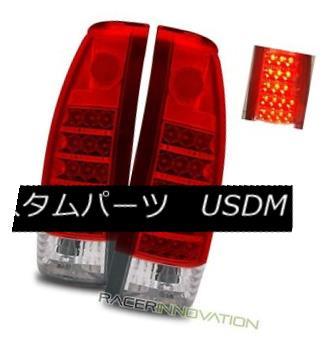 テールライト 88-98 C/K 88-98 Full Size//Tahoe/92-94 Escalade Blazer/99-00 Escalade Red Clear LED Tail Lights 88-98 C/ Kフルサイズ/タホ/ 92- 94ブレイザー/ 99-00エスカレード赤クリアLEDテールライト, 背が高く見える靴専門店TUSKER:1edc8ba4 --- officewill.xsrv.jp