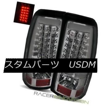 テールライト For 04-06 Sierra 1500/2500/3500/05-07 Hybrid Smoke LED Tail Lights Brake Lamps 04-06 Sierra 1500/2500/3500 / 05-07ハイブリッドスモークLEDテールライトブレーキランプ