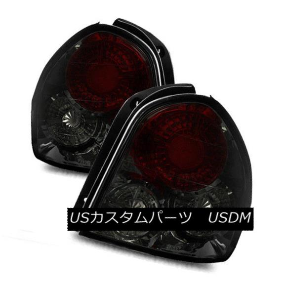 テールライト For 01-06 Santa Fe Smoke LH/RH Altezza Tail Lights Rear Brake Lamps Replacement 01-06サンタフェ煙LH / RH Altezzaテールライトリアブレーキランプの交換