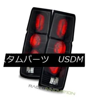 テールライト For 86-97 Nissan Hardbody/D21 Pickup Black Altezza Tail Lights Brake Lamps 86-97日産ハードボディ/ D21ピックアップ用ブラックアルテッツァテールライトブレーキランプ