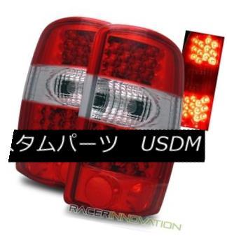 テールライト For 00-06 Chevy Suburban/Tahoe/GMC Yukon/Denali Red Clear LED Tail Lights Lamp 00-06 Chevy Suburban / Tahoe / GMC Yukon / Denaliレッドクリアテールライトランプ