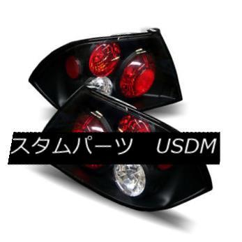 テールライト For 02-03 Mitsubishi Lancer Black LH+RH Altezza Tail Lights Rear Brake Lamps 02-03三菱ランサーブラックLH + RH Altezzaテールライトリアブレーキランプ