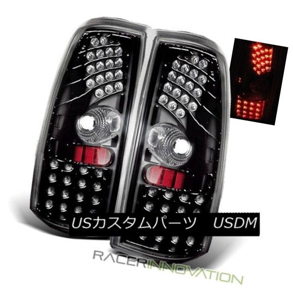 テールライト For 99-02 Chevy Silverado/99-03 Sierra LED Tail Lights Brake Lamps Glossy Black 99-02 Chevy Silverado / 99-0 3 Sierra LEDテールライトブレーキランプ光沢ブラック