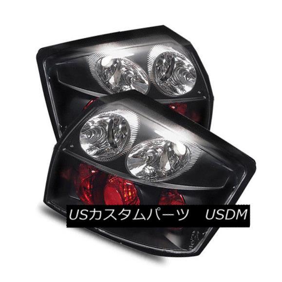 テールライト For 02-05 Audi A4/S4 4DR Black Left+Right Altezza Tail Lights Rear Brake Lamps 02-05用Audi A4 / S4 4DRブラック左+右Altezzaテールライトリアブレーキランプ