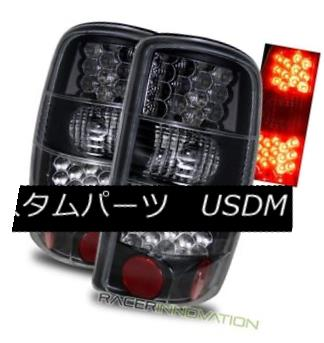 テールライト For 00-06 Chevy Suburban/Tahoe/GMC Yukon/Denali Black LED Tail Lights Brake Lamp 00-06 Chevy Suburban / Tahoe / GMC Yukon / Denali Black LEDテールライトブレーキランプ