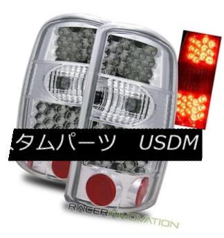 テールライト For 00-06 Yukon/Denali Suburban/Tahoe/GMC Yukon Chrome/Denali For Chrome Clear LED Tail Lights Lamps 00-06郊外/タホ/ GMCユーコン/デナリクロームクリアLEDテールライトランプ, COCO封筒屋:757c9b85 --- officewill.xsrv.jp