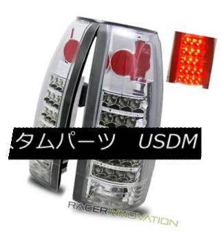 テールライト Kフルサイズ/ 88-98 C10/ C/K Full Size//Tahoe/92-94 Blazer/99-00 Escalade Chrome LED Tail Lights 88-98 C10 C/ Kフルサイズ/ Tahoe/ 92- 94 Blazer/ 99-00 Escalade Chrome LEDテールライト, ブランドショップ アドマーニ:c44775c0 --- officewill.xsrv.jp