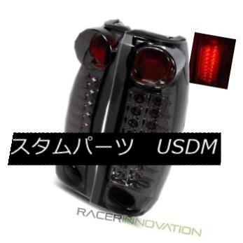 テールライト For Rear 99-00 Cadillac Escalade Cadillac Smoke Lamps LED Tail Lights Rear Brake Lamps 99-00キャデラックエスカレード用スモークLEDテールライトリアブレーキランプ, フォーアニュ:334b3655 --- officewill.xsrv.jp