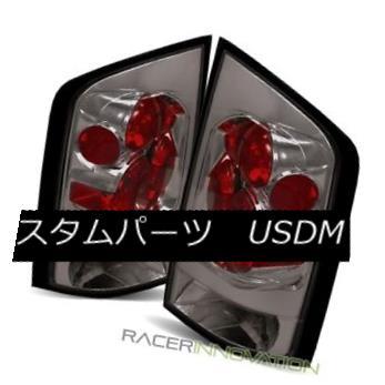 テールライト For 05-12 Nissan Armada Smoke Altezza Tail Lights Rear Brake Lamps 05-12日産アルマダスモークアルテッツァテールライトリアブレーキランプ