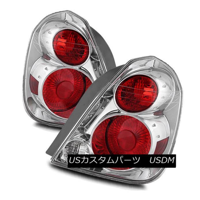 テールライト For 05-06 Nissan Altima Chrome Left/Right Tail Lights Rear Brake Lamps Assembly 05-06日産アルティマクローム左/右テールライトリアブレーキランプアセンブリ