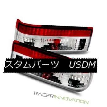 テールライト For 83-87 Toyota Corolla/AE86 Hatchback JDM Red Crystal Tail Lights Rear Lamps 83-87トヨタカローラ/ AE86ハッチバックJDMレッドクリスタルテールライトリアランプ