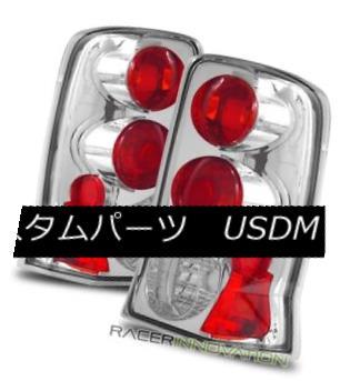テールライト For 02-06 Cadillac Escalade Chrome Clear Altezza Tail Lights Rear Brake Lamps 02-06キャデラックエスカレードクロームクリアAltezzaテールライトリアブレーキランプ