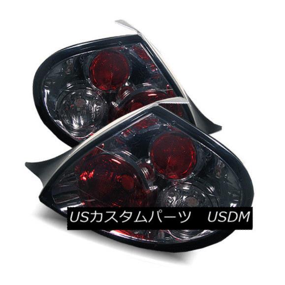 テールライト For 00-02 Dodge Neon Smoke LH/RH Altezza Tail Lights Rear Brake Lamp Replacement 00-02ダッジネオンスモークLH / RH Altezzaテールライトリアブレーキランプ交換