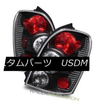 テールライト For 02-03 Mazda Protege5 Wagon Euro Black Altezza Tail Lights Brake Lamps 02-03マツダProtege5ワゴンユーロブラックAltezzaテールライトブレーキランプ用