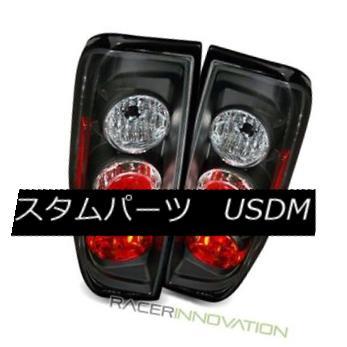 テールライト For 05-12 Nissan Frontier Black Altezza Tail Lights Rear Brake Lamps 05-12日産フロンティアブラックアルテッツァテールライトリアブレーキランプ