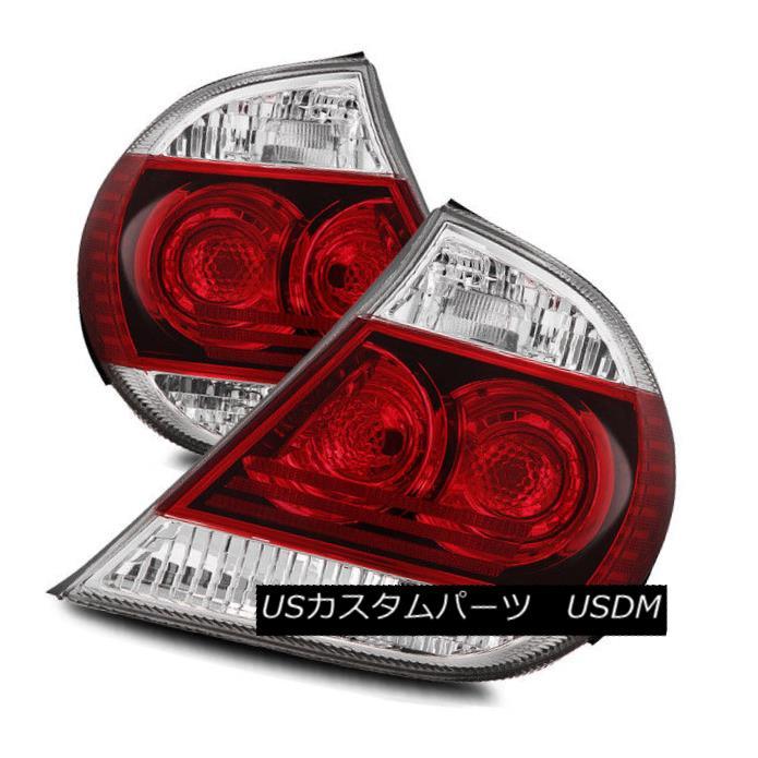 テールライト For 05-06 Toyota Camry Red Clear Left/Right Tail Lights Rear Brake Lamp Assembly 05-06トヨタカムリレッドクリア左/右テールライトリアブレーキランプアセンブリ