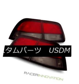 テールライト For 97-99 Nissan Maxima Euro Red Smoke Tail Lights Rear Brake Lamps 97-99日産マキシマユーロレッド煙テールライトリアブレーキランプ