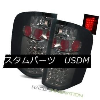 テールライト For 07-13 Silverado 1500/2500/3500HD Smoke LED Tail Lights Rear Brake Lamps 07-13 Silverado 1500/2500/3500 HDスモークLEDテールライトリアブレーキランプ