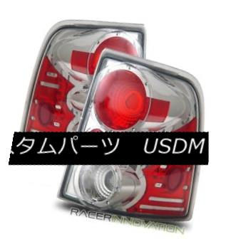テールライト For 02-05 Ford Explorer/Mountaineer 4DR Chrome Altezza Tail Lights Brake Lamps 02-05 For Ford Explorer / Mount aineer 4DR Chrome Altezzaテールライトブレーキランプ