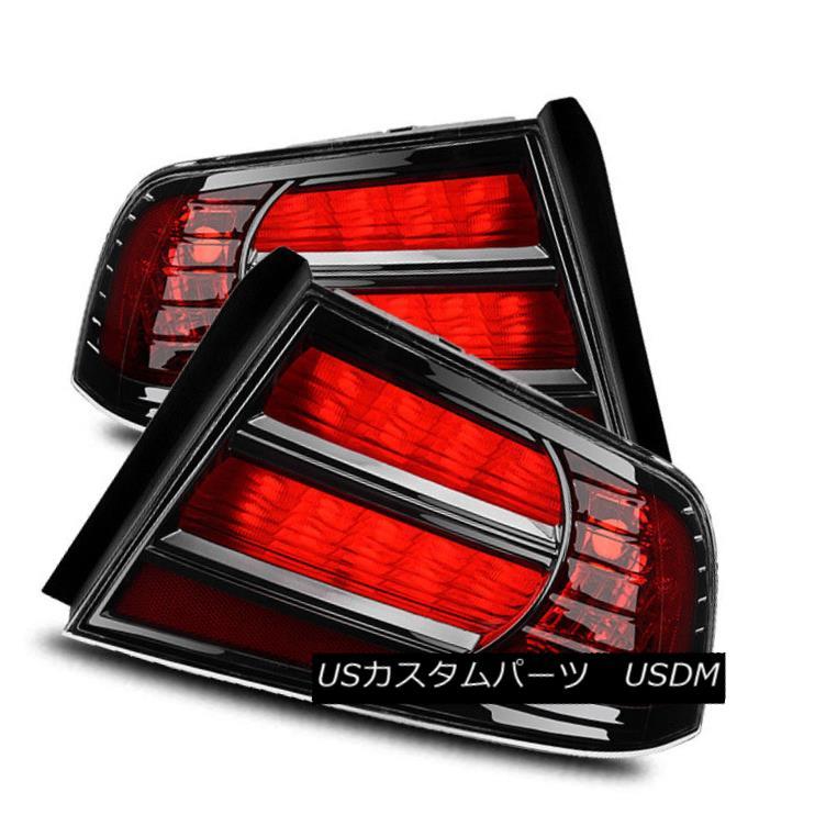 テールライト For 04-08 Acura TL Red Left/Right Type-S Style Tail Lights Rear Brake Lamps Set 04-08のためにAcura TLレッド左/右タイプ-Sスタイルテールライトリアブレーキランプセット